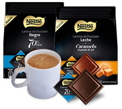 Laminas chocolate Nestle DisfrutaBox