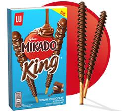 DisfrutaBox Sentidos Mikado King Chocolate con Leche