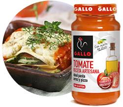 DisfrutaBox Gata Tomate Artesano Pastas Gallo