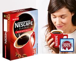 DisfrutaBox Mas o Menos Nescafe Descafeinado Classic