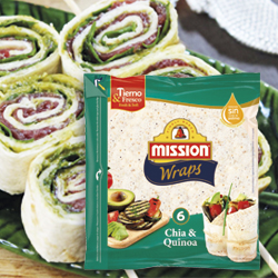 DisfrutaBox Accion Reacción Mission Wraps Chia y Quinoa