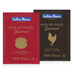 DisfrutaBox Gourmet Gourmand Sopas Gourmet Gallina Blanca