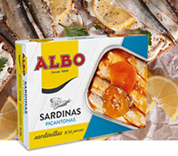 DisfrutaBox Nostalgia Sardinillas Picantonas Albo