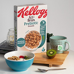 All Bran Prebiotic Classic de Kellogg en DisfrutaBox Summer Love