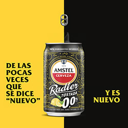 Amstel Radler Tostada 0,0 en DisfrutaBox 123 Escondite Inglés