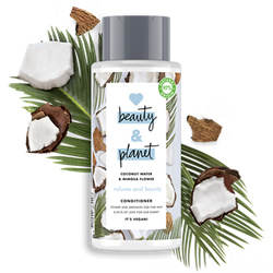 Mini Acondicionador Agua de Coco y Flor de Mimosa Love Beauty & Planet en DisfrutaBox
