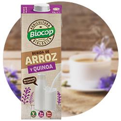 DisfrutaBox Sostener Bebida Arroz Quinoa Biocop