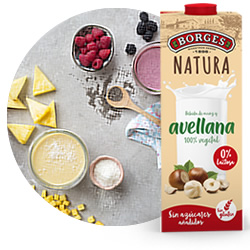 DisfrutaBox Gourmet Gourmand Bebida de Avellanas Borges Natura
