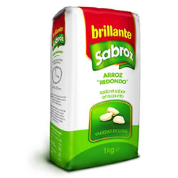 arroz brillante sabroz