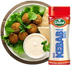 DisfrutaBox Caspita Chovi Salsa Kebab White