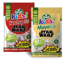 DisfrutaBox Chovi Kids Mayo y Ketchup