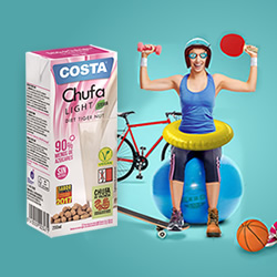 DisfrutaBox Mediterraneo Costa Minibrik Chufa Light