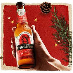 DisfrutaBox Comer Beber Amar Cruzcampo Edicion Limitada Navidad