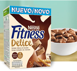 DisfrutaBox Moldes Nestle Fitness Delice Chocolate