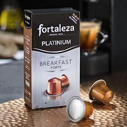 DisfrutaBox Al Calor del Hogar Capsulas Aluminio Fortaleza Platinium Breakfast Forte