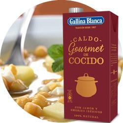 DisfrutaBox Para Comerte Caldo Gourmet Cocido Gallina Blanca