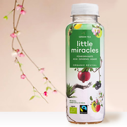 DisfrutaBox Gourmet Gourmand Little Miracles Green Tea Pomegranate