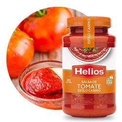 Helios Salsa de Tomate estilo Casero en DisfrutaBox Mi hogar mi reino