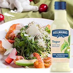 Disfrutabox Gourmet Gourmand Hellmanns Salsa Yogur para Ensaladas