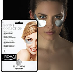 DisfrutaBox Iroha Parches Foil Platino