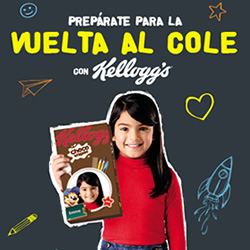 Kelloggs Choco Krispies en DisfrutaBox 123 Escondite Inglés