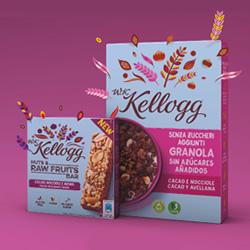 W.K. Kellogg sin azúcares añadidos cacao y avellanas