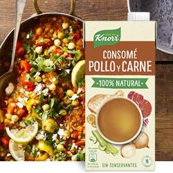 DisfrutaBox Nostalgia Caldo Casero de Pollo y Carne Knorr