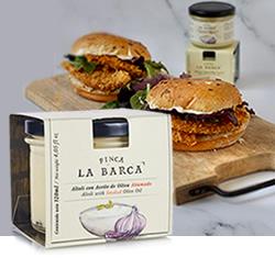 DisfrutaBox Comer Beber Amar Alioli Con Aceite de Oliva Ahumado Finca la Barca