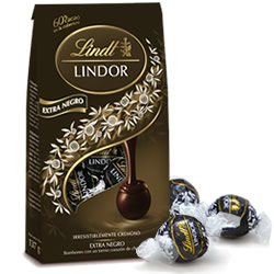 DisfrutaBox Senses and Sensibility bombones Lindor Negro