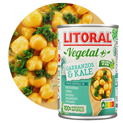 Litoral Garbanzos con Kale en DisfrutaBox Amanece que no es poco