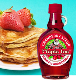 DisfrutaBox Sweet Home Sirope Arandanos Maple Joe