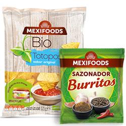 DisfrutaBox DisfrutaFun Totopos Mexifoods y Sazonador Burritos