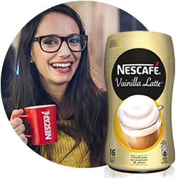 DisfrutaBox Castana Nescafe Cappuccino
