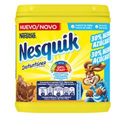 DisfrutaBox Hojear Nesquik 30% menos azucar