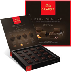 DisfrutaBox Delicatessen Nestle Caja Roja Dark Sublime