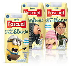 DisfrutaBox Hojear Batidos Pascual Chocolate Blanco