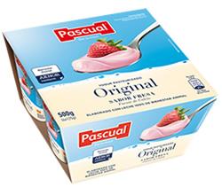 Yogur Pasteurizado Sabor Fresa