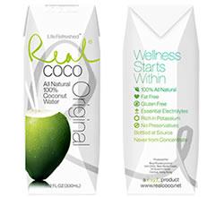 Agua de Coco Real Coco DisfrutaBox