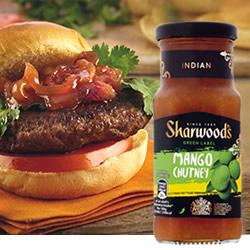 Salsa Sharwoods Mango Chutney