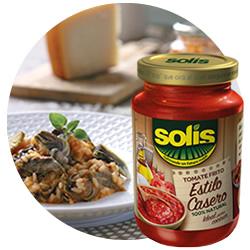DisfrutaBox Sostener Tomate Frito Estilo Casero Solis