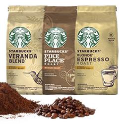 DisfrutaBox Preparados Listos Starbucks® Cafe Molido Grano Blonde Espresso Roast