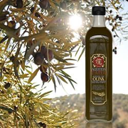 Aceite de Oliva Virgen Extra Sin Filtrar de Aceites Tapia en DisfrutaBox REtrato en Sepia