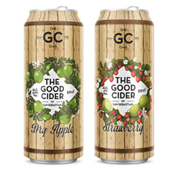 DisfrutaBox Gourmet Gourmand The Good Cider of San Sebastian Dry Apple y Strawberry