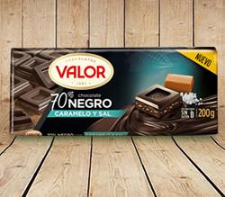 DisfrutaBox Delicatessen Valor Chocolate Negro Caramelo y Sal