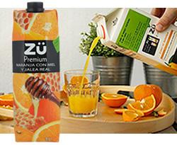 DisfrutaBox Dulce Molicie Zuu Premium Naranja Miel y Jalea REal